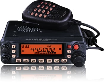 Yaesu Original FT-7900R Amateur Radio Dual-Band 144/440 MHz Transceiver 50/45