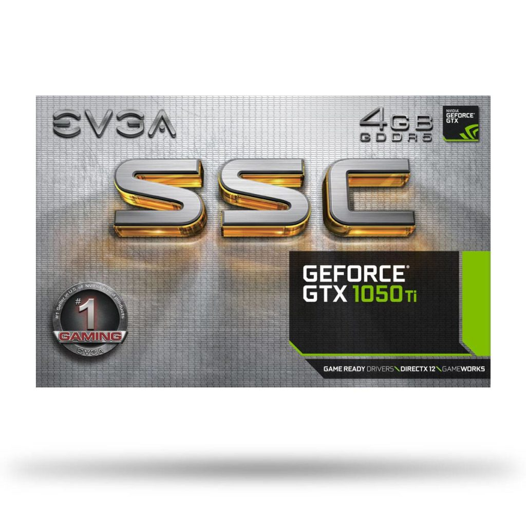 EVGA GeForce GTX 1050 Ti SSC Gaming review