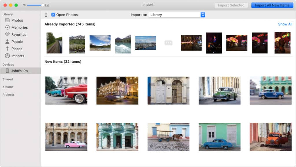 Sync Photos From iPhone to Mac Using Photos App